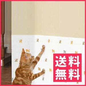 【お取寄せ品】明和グラビア 犬猫ツメ傷保護シート(吸着タイプ)92×90cm◆  動物柄【送料無料】|rocky