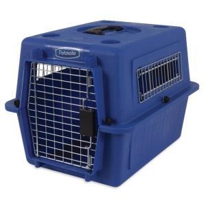 ペットメイト ウルトラ バリケンネル 15lbs (6.8kg)  S ブルー 犬猫用【送料無料】|rocky