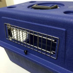 ペットメイト ウルトラ バリケンネル 15lbs (6.8kg)  S ブルー 犬猫用【送料無料】|rocky|02