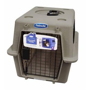 ペットメイト ウルトラ バリケンネル  15lbs (6.8kg) S トープ 犬猫用 ×4入【送料...