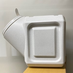 ガンマプラスチックス フードコンテナ スタッカブル  40# 容量約18kg【送料無料】|rocky