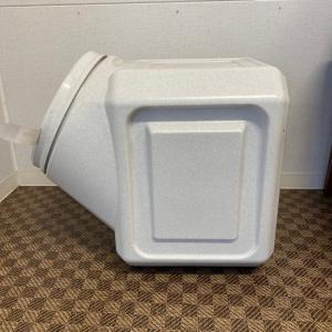ガンマプラスチックス フードコンテナ スタッカブル  40# 容量約18kg【送料無料】|rocky|03