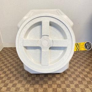 ガンマプラスチックス フードコンテナ スタッカブル  40# 容量約18kg【送料無料】|rocky|04
