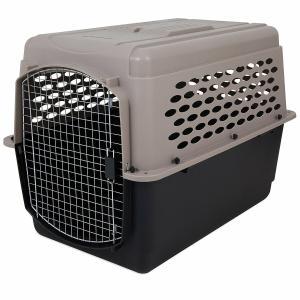 ペットメイト バリケンネル 70-90lbs (31.7-40.8kg) 犬用 トープ/ブラック【送料無料】|rocky