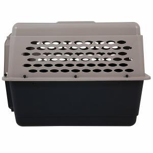 ペットメイト バリケンネル 70-90lbs (31.7-40.8kg) 犬用 トープ/ブラック【送料無料】|rocky|03