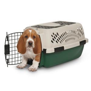 ペットメイト ラフマックス ケンネル オフホワイト/グリーン  4.5kgまで 0-10LBS 超小型犬・猫用【送料無料】|rocky