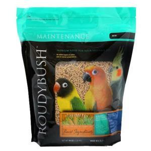ラウディブッシュ バードフード デイリーメンテナンス 鳥類用 ミニ 極小粒 1.25kg|rocky