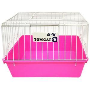 トムキャット パピーキャリー (仔犬、小型犬、猫用)  ピンク【送料無料】