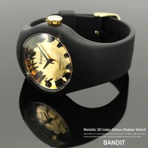 シリコン リストウォッチ 腕時計 ラバー カラフル アナログ メタリック ユニセックス スポーツ|rockymonroe