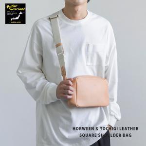 ミニショルダーバッグ 本革 レザーバッグ メンズ ユニセックス HORWEEN 日本製 国産|rockymonroe