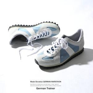 ジャーマントレーナー 靴 メンズ スニーカー ランニング ローカット スポーツ カジュアル 新春|rockymonroe