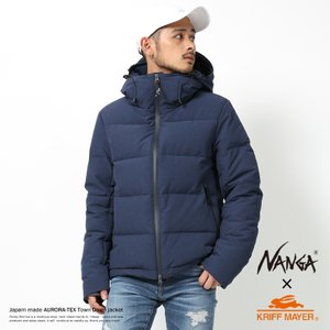 NANGA ナンガ ダウンジャケット メンズ AURORA オーロラ 日本製 ボリュームネック 防水 防寒 アウトドア 登山 無地 撥水|rockymonroe