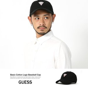 GUESS キャップ black メンズ 帽子 ベースボールキャップ ローキャップ ロゴ ブラック 黒|rockymonroe