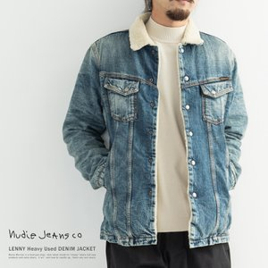 Nudie Jeans ヌーディージーンズ  160568 デニムジャケット メンズ LENNY レ...