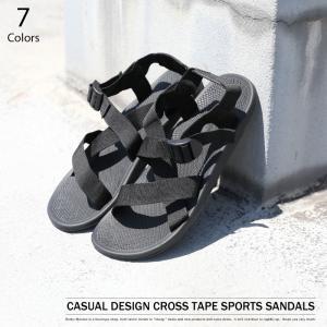 カジュアルデザインスポーツサンダル  ■ もはや夏の定番となったスポサン 夏のスタイリングに欠かせな...