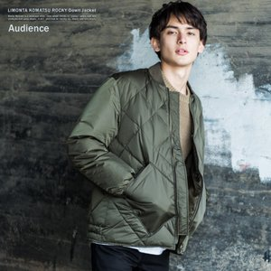 【Audience/オーディエンス】LIMONTA KOMATSU ROCKYダウンジャケット/AU...