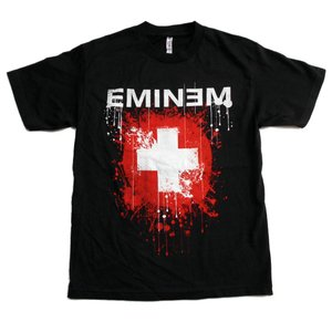 EMINEM Tシャツ SPLATTERED 正規品 バンドTシャツ rockyou
