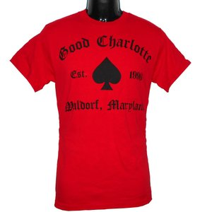 GOOD CHARLOTTE Tシャツ GC RECREATE 1 RED 正規品|rockyou