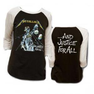 METALLICA  ラグランTシャツ JUSTICE RAGLAN 正規品バンドTシャツ|rockyou