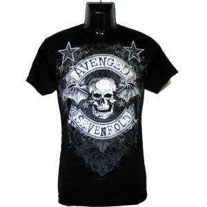 AVENGED SEVENFOLD Tシャツ STARS FLOURISH 正規品|rockyou