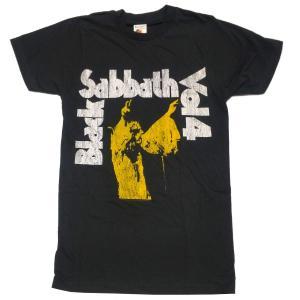 BLACK SABBATH Tシャツ VOL. 4 YELLOW 正規品|rockyou