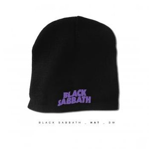 BLACK SABBATH ニット帽 ブラックサバス LOGO BEANIE 正規品|rockyou