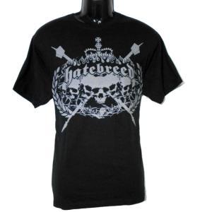 HATEBREED Tシャツ Skull Crest 正規品バンドTシャツ メタルTシャツ|rockyou