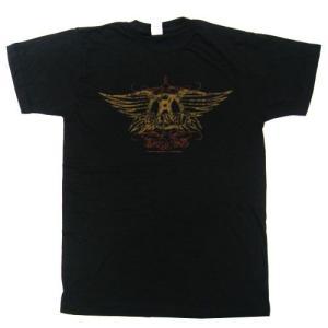 AEROSMITH Tシャツ Faded Wings 正規品 rockyou