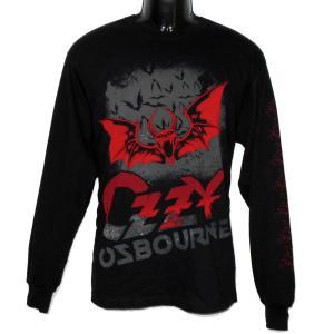 OZZY OSBOURNE 長袖Tシャツ BATS 正規品バンドTシャツ|rockyou