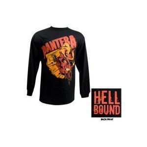 PANTERA 長袖Tシャツ Devils Hand Skull 正規品バンドTシャツ|rockyou