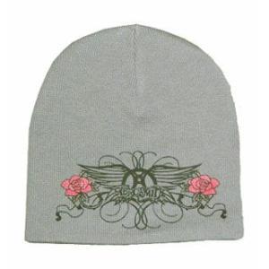 AEROSMITH ニット帽 WINGS LOGO Beanie 正規品|rockyou