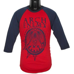 ARCH ENEMY ラグランTシャツ Symbol Long Sleeve 正規品|rockyou