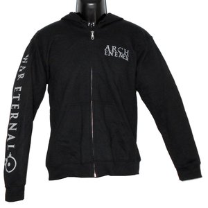 ARCH ENEMY War Eternal Logo Zip Hoodie バンドパーカー 正規品|rockyou