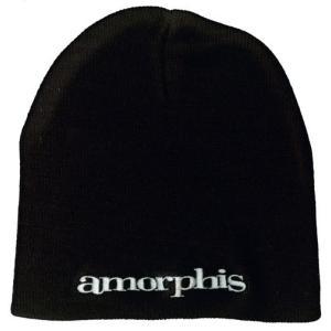 AMORPHIS ニット帽 LOGO BEANIE 正規品|rockyou