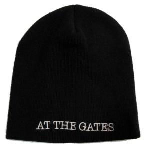 AT THE GATES アット・ザ・ゲイツ ニット帽 logo 正規品|rockyou