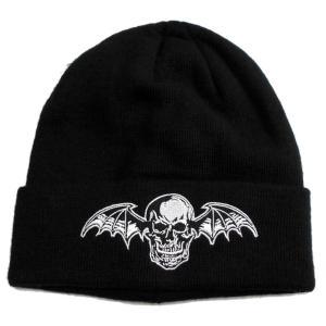 AVENGED SEVENFOLD ニット帽 DEATH BAT 正規品|rockyou