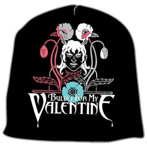 BULLET FOR MY VALENTINE ニット帽  FLOWERS BEANIES 正規品 rockyou