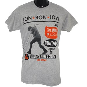 BON JOVI Tシャツ KING OF SUBURBIA 正規品 バンドTシャツ rockyou