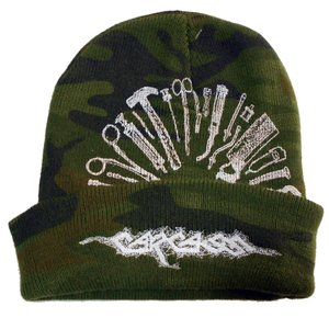 CARCASS カーカス ニット帽 Tools Embroidered Logo 正規品|rockyou