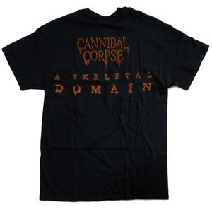CANNIBAL CORPSE Tシャツ Skeletal Domain Cover 正規品|rockyou|02