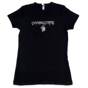 CANNIBAL CORPSE レディースサイズ Tシャツ LOGO FETUS 正規品|rockyou