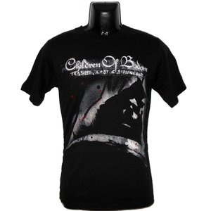 CHILDREN OF BODOM Tシャツ TRASHED LOGO 正規品|rockyou