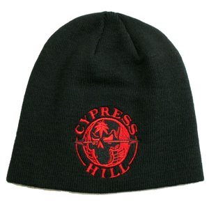 CYPRESS HILL ニット帽 Red Globe Embroidered 正規品|rockyou