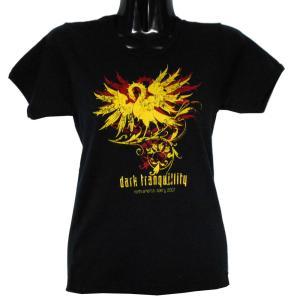 DARK TRANQUILITY レディースサイズ Tシャツ LOGO BIRD 正規品|rockyou