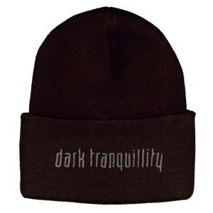 DARK TRANQUILLITY ニット帽 EMB LOGO 正規品|rockyou