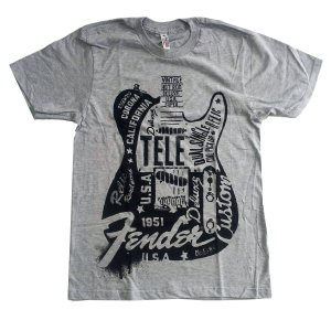 FENDER Tシャツ Telecaster 正規品|rockyou