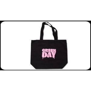 GREEN DAY トートバック Pink Stencil Logo 正規品|rockyou