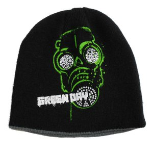 GREEN DAY グリーン・デイ ニット帽 gas mask Reversible 正規品|rockyou