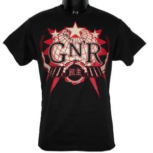 GUNS N ROSES  GLOBE LOGO 正規品 バンドTシャツ rockyou
