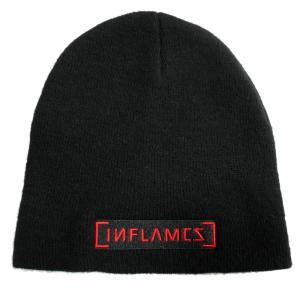 IN FLAMES イン・フレイムス ニット帽 LOGO 正規品|rockyou
